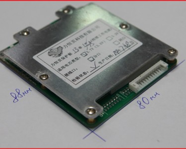 Плата BMS\PCM 2-20s LiFePO4, Li-Ion GP20S (5-30А)